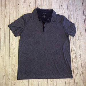 Apt 9 purple smart temp purple polo shirt